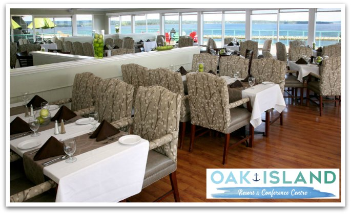La Vista Dining Room Oak Island Resort